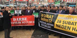 Kahramanmaraş'ta 28 Şubat Mağdurları İçin Özgürlük Eylemi Yapıldı