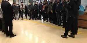 İstanbul Medeniyet Üniversitesi'nde Doğu Guta Protestosu