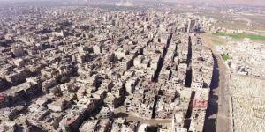 Sistematik Bombardımanlar Doğu Guta'yı Devasa Bir Enkaza Dönüştürdü