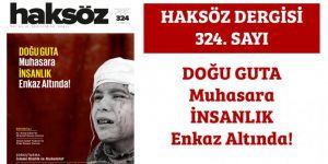 Haksöz Dergisinin Mart 2018 Sayısı Çıktı!