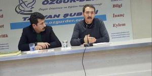 """Tatvan Özgür-Der'de """"Cemaati İslamî ve Mevdûdî"""" Konuşuldu"""
