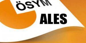 ÖSYM'den E-ALES Açıklaması
