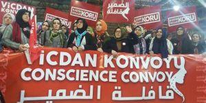 """""""Vicdan Konvoyu"""" Suriyeli Mahpus Kadınlar İçin Yolda..."""
