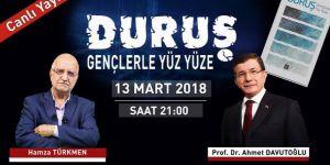 Prof. Dr. Ahmet Davutoğlu Saat 21:00'da Hilal Tv'de