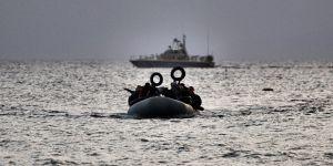 Ege'de Göçmenleri Taşıyan Bot Battı