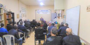 """Akhisar Özgür-Der'de """"Aile ve Çocuk Eğitimi"""" Konferansı"""