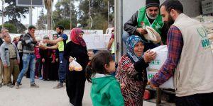 İHH Afrin'e İnsani Yardım Ulaştırmaya Devam Ediyor