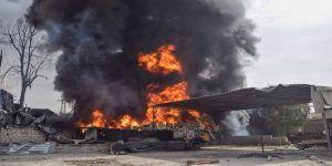 Katil Esed'in Doğu Guta'daki Saldırısında 37 Sivil Yanarak Can Verdi
