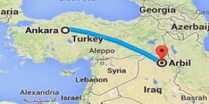 Türkiye'den Erbil'e Uçuşlar Bu Akşam Başlıyor