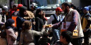 İHH: Doğu Guta'dan 5 Bin 300 Kişi Daha Tahliye Edildi