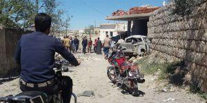 Esed Güçlerinden İdlib'in Güneybatısına Hava Saldırısı!