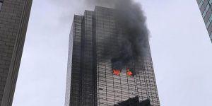 Trump'ın Evinin ve Ofislerin Bulunduğu Trump Tower'da Yangın