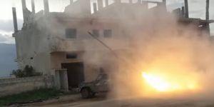 Direnişçiler Lazkiye'deki Rejim Mevzilerini Vurdu!
