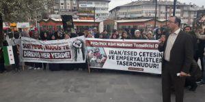 Duma Katliamı Sivas'ta Protesto Edildi