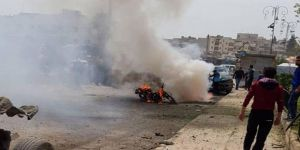 Azez Meclis Binası Yakınında Şiddetli Patlama