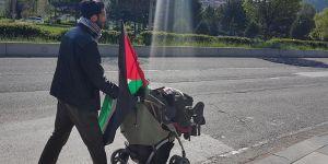 Filistin İçin İsveç'ten Yola Çıkan Ladraa, Ankara'da
