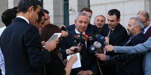 Arınç: AK Parti'ye Zarar Verecek Hiçbir Hareketin İçinde Olmam