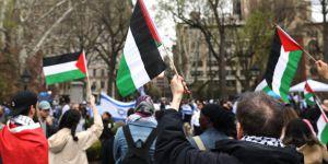 New York'ta İsrail Protestosu