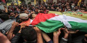 Gazze Şehitleri Son Yolculuklarına Uğurlandı