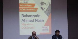 """""""Babanzade Ahmed Naim Hayatı ve Düşüncesi"""""""
