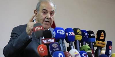 Irak'ta Cumhurbaşkanı Yardımcısı Allavi Seçimlerin İptalini İstedi