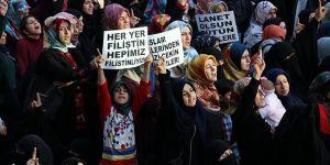 Batman'da 55 STK'dan İsrail Protestosu
