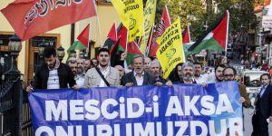 Bursa'dan Kudüs Direnişine Destek Yürüyüşü
