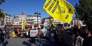 Sivas'ta Kudüs Direnişiyle Dayanışma Eylemi