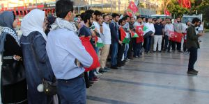Aydın'da ABD ve İsrail'e Kudüs Protestosu!