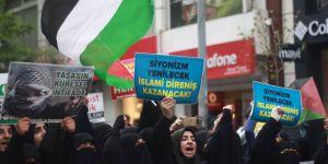 Bingöl'de Binler Kudüs İçin Yürüdü