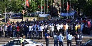 Amasya Halkı Kudüs İçin Haykırdı: Mescid-i Aksa Onurumuzdur!