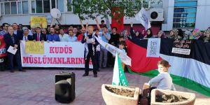 Kdz. Ereğli'de İsrail'in Katliamları Protesto Edildi