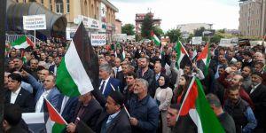 Muş'tan Kudüs Direnişine Destek Eylemi