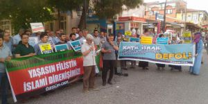 Akhisar'da Kudüs Direnişine Destek Eylemi
