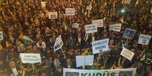 Hasköy'de Kudüs Direnişine Destek Verildi
