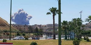 Esed'e Ait Hava Üssünde Şiddetli Patlamalar