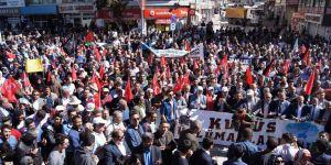 Van'da Binlerce Kişi Kudüs İçin Yürüdü