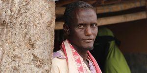 Etiyopyalı Muhammed'in Bu Ramazan da Duası Bir Damla Su