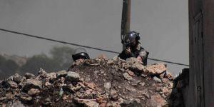 Filistinli Gençler İşgal Askerlerine Ait Askeri Noktayı Ateşe Verdi