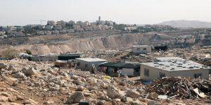 Siyonistlerden Kudüs'teki Filistinli Bedevilerin Evleri İçin 'Yıkım Kararı'