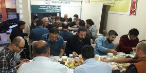 Gaziosmanpaşa Özgür-Der'de İftar Yapıldı