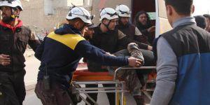Halep'te Beyaz Baretliler'e Saldırı: 5 Ölü