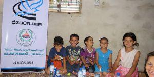 Özgür-Der Üyelerinin Kumanyaları Filistin'de Dağıtıldı
