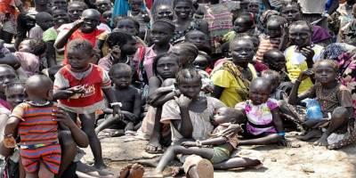 Güney Sudan'da Yüz Binlerce Çocuk Ölümün Eşiğinde