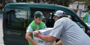 Amasya İHH1400 Aileye Ramazan Kumanyası ve Giyim Yardımında Bulundu