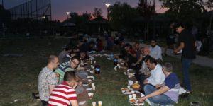 Özgür-Der Ankara Şubesi İftarda Buluştu