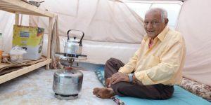 'Sonumun Çadırda Olacağını Hiç Düşünmezdim'