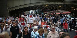 New Yorklular Mülteciler İçin Yürüdü