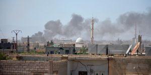 Esed Rejimi Dera'ya Bir Günde 750 Saldırı Düzenledi!