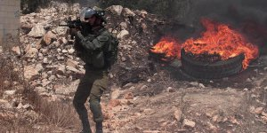 İşgalci İsrail Askerleri Muhabiri Vurdu